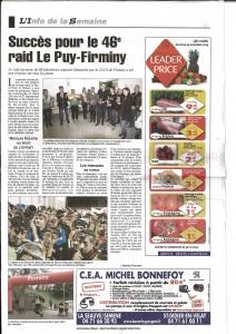Article La Gazette Raid Le Puy Firminy 2014 p2